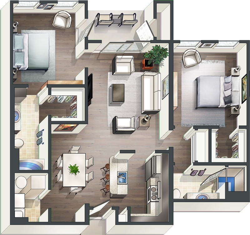 Floor Plan Art Use Floor Plan Illustrations That Sell